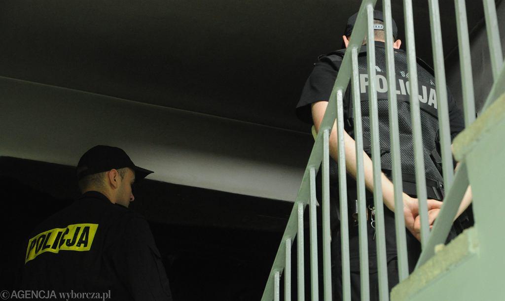 Interwencja policji. Zdjęcie ilustracyjne