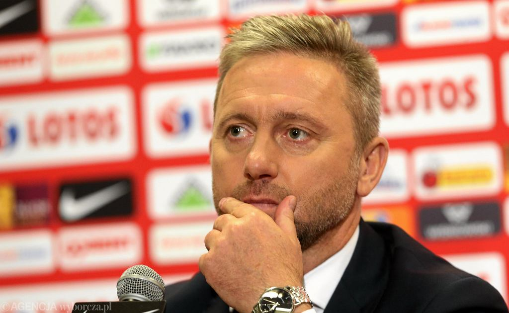 Trener reprezentacji Polski Jerzy Brzęczek