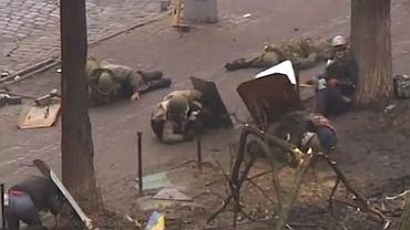 Krwawa strzelanina na ulicach Kijowa