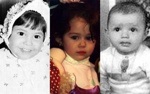 Shakira, Cristiano Ronaldo, Miley Cyrus