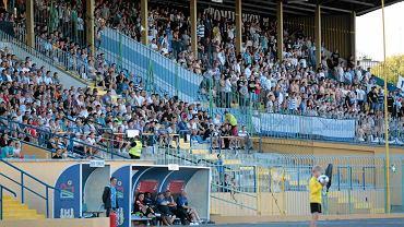 Wysłużony stadion w Olsztynie
