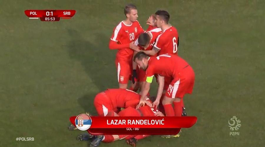 Reprezentacja Polski U21 przegrała z Serbią U21