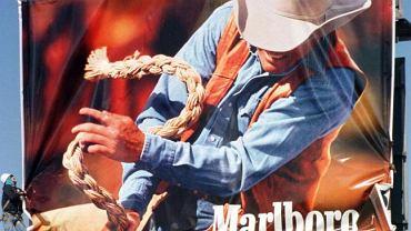 Słynny plakat Marlboro z Winfieldem jako kowbojem