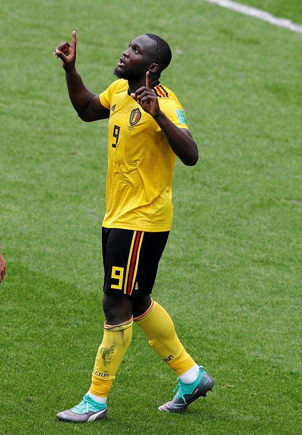 MŚ 2018. Belgia - Tunezja 5:2. Romelu Lukaku
