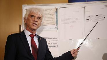 Prezes Sądu Okręgowego w Szczecinie Maciej Strączyński,