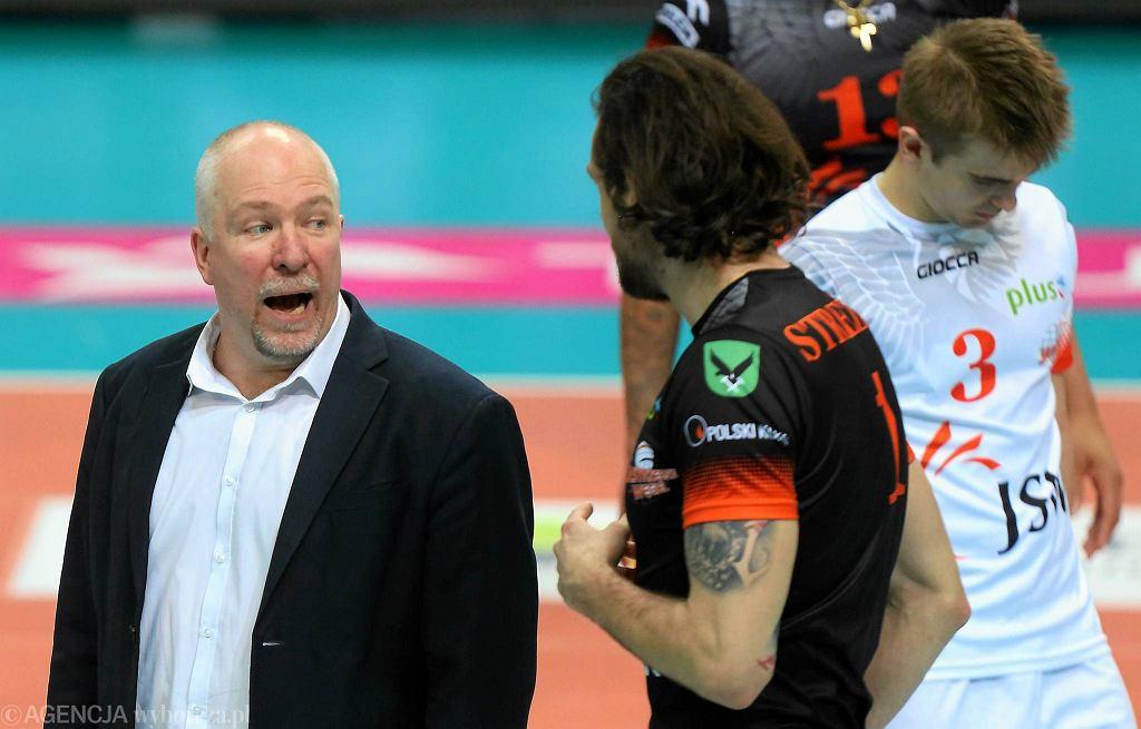 Trener Jastrzębskiego Węgla Mark Lebedew