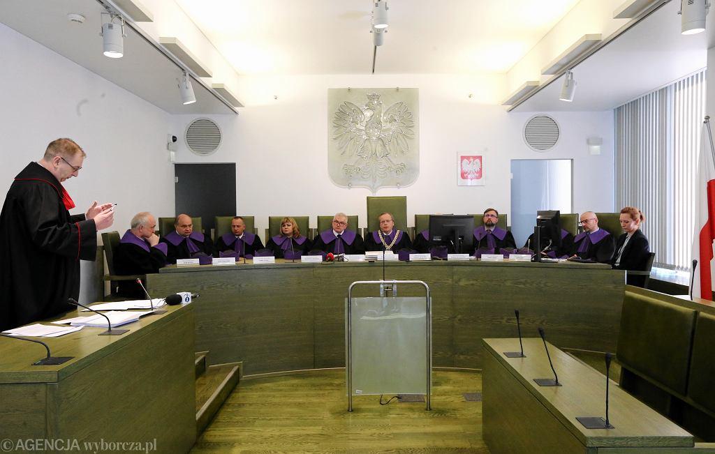 Posiedzenie Izby Dyscyplinarnej Sądu Najwyższego.