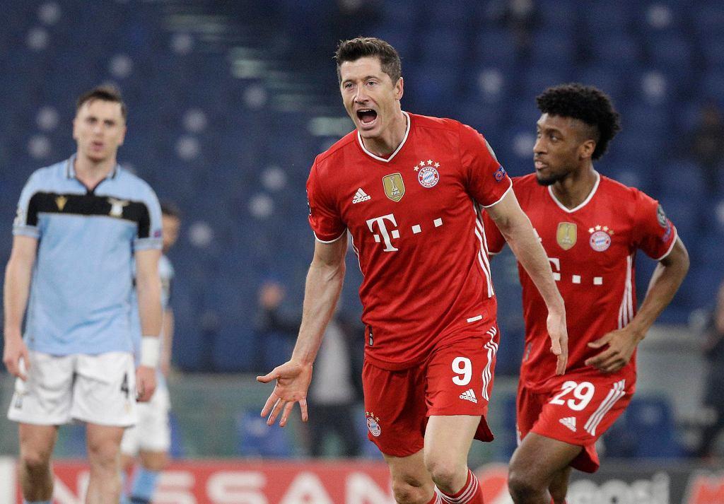 Robert Lewandowski strzela, Bayern wygrywa
