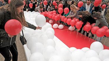 Obchody rocznicy uchwalenia Konstytucji 3 Maja w Poznaniu, 03.05.2017.