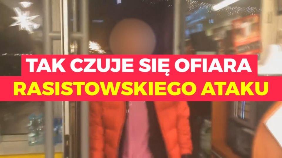 Rasistowski atak w Łodzi