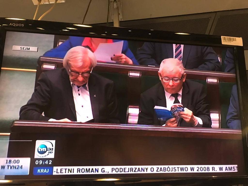 Co czyta prezes Kaczyński?
