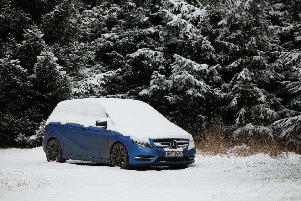 Wyprawa Mercedesem B200 CDI w Góry Sowie