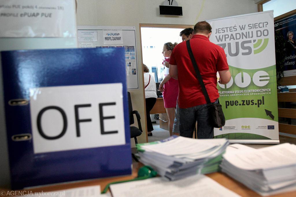 Dzień składania deklaracji OFE - ZUS w Lublinie