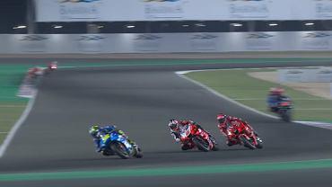 Johann Zarco (w środku) pobił rekord prędkości w Moto GP