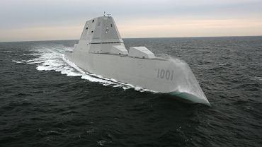 Niszczyciel typu Zumwalt floty USA