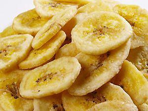 Chipsy z pieczonych bananów są o wiele zdrowsze od tych tradycyjnych