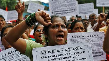 Protesty w Indiach