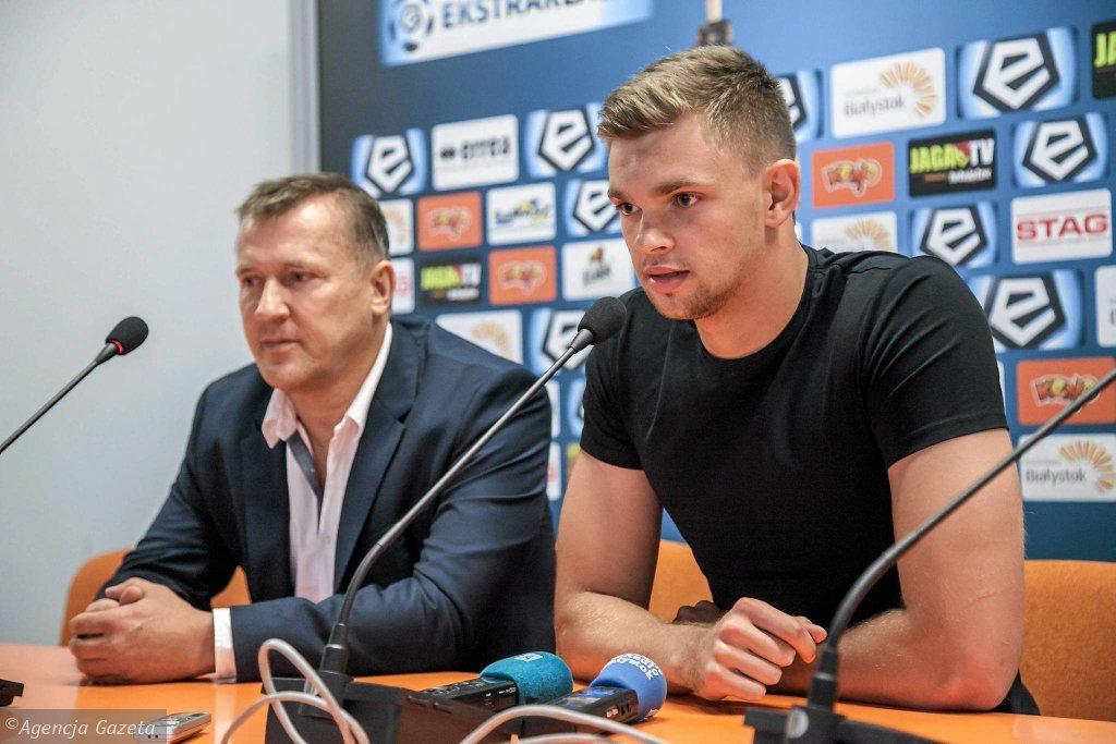Cezary Kulesza i Bartłomiej Drągowski