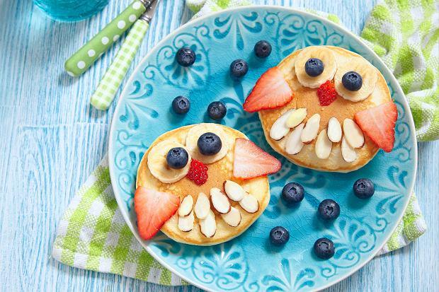 Pancakes - kolorowe naleśniki