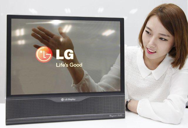 Przezroczysty telewizor - chcecie taki?