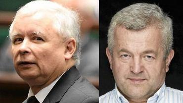 Jarosław Kaczyński i Jarosław Gugała