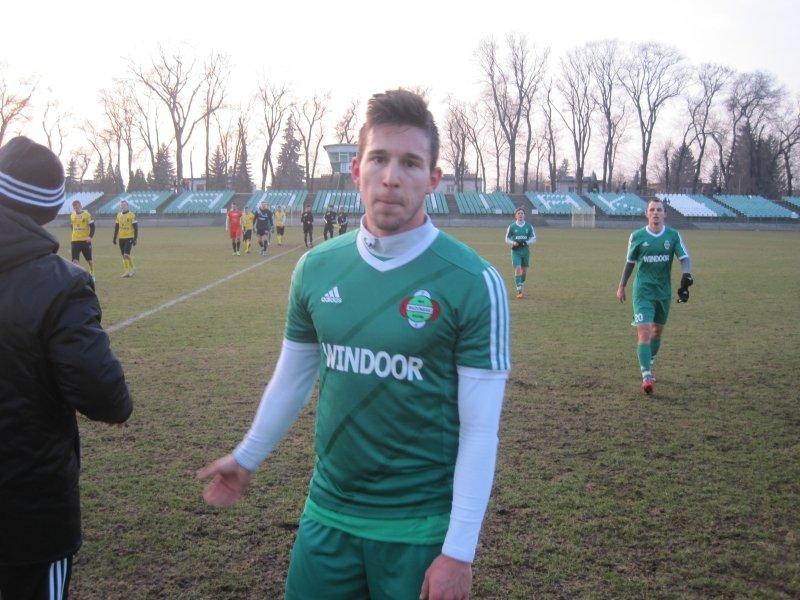 Marek Dubeń - nowy piłkarz Radomiaka