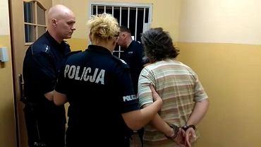 Grażyna F., pracodawczyni Wasyla, po zatrzymaniu przez policję