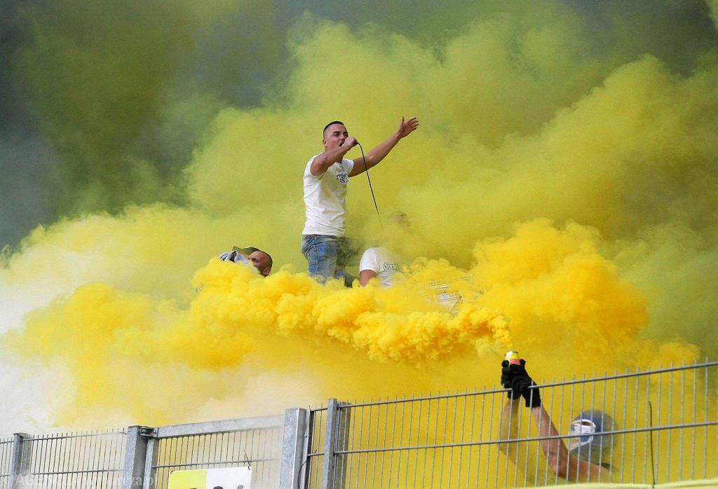 Lech Poznań - Arka Gdynia 0:0. Kibice