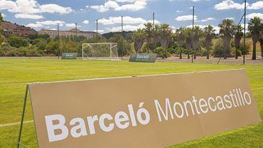 Boisko piłkarskie w ośrodku Montecastillo w Jerez de la Frontera