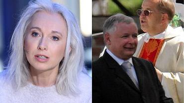 Manuela Gretkowska / Jarosław Kaczyński i ojciec Tadeusz Rydzyk