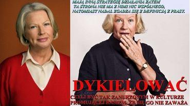 """Bożena Dykiel i """"dykielować"""""""