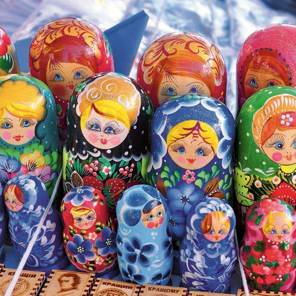 Ukraina, pamiątkowe matrioszki