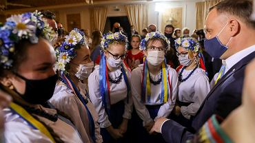 Spotkanie Andrzeja Dudy z Kołami Gospodyń Wiejskich Lubelszczyzny w Urszulinie