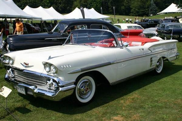 Chevrolet Impala pierwszej generacji (1958)