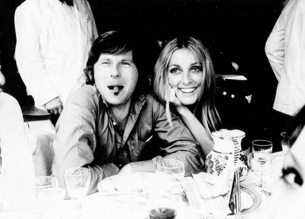 Roman Polański i Sharon Tate w 1968 r.