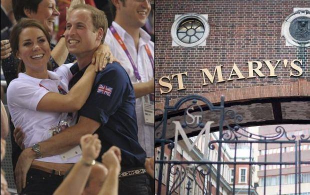 Księżna Kate, książę William.