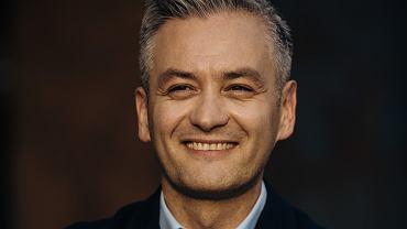 Robert Biedron w Gdansku .