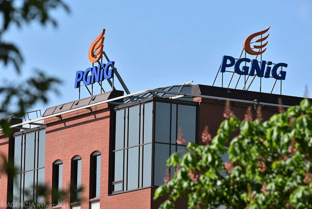 Warszawska siedziba spółki PGNiG (Polskie Górnictwo Naftowe i Gazownictwo)