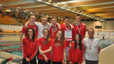 Reprezentacja Kornera Zielona Góra na mistrzostwach w Gliwicach