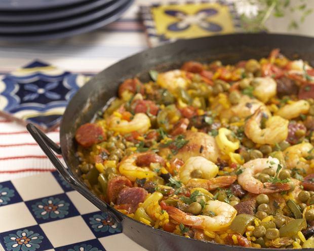 Hiszpania Paella Wszystko O Gotowaniu W Kuchni Ugotujto