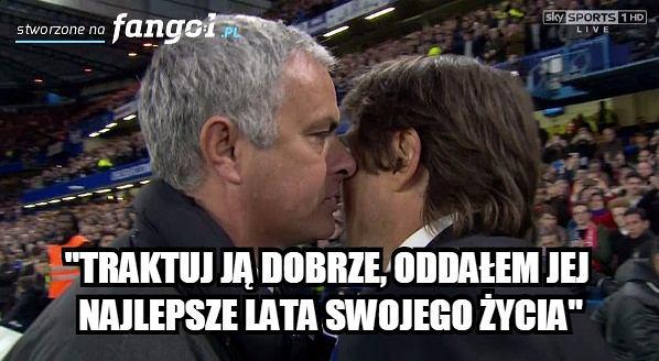 Zdjęcie numer 3 w galerii - Co powiedział Mourinho Conte po końcowym gwizdku? Portugalczyk wyśmiewany [MEMY]