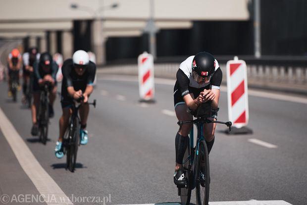 Zdjęcie numer 8 w galerii - Brytyjczyk James Teagle i Holenderka Sarissa De Vries najlepsi w triathlonowym Lotto Challenge Gdańsk 2021 [ZDJĘCIA]