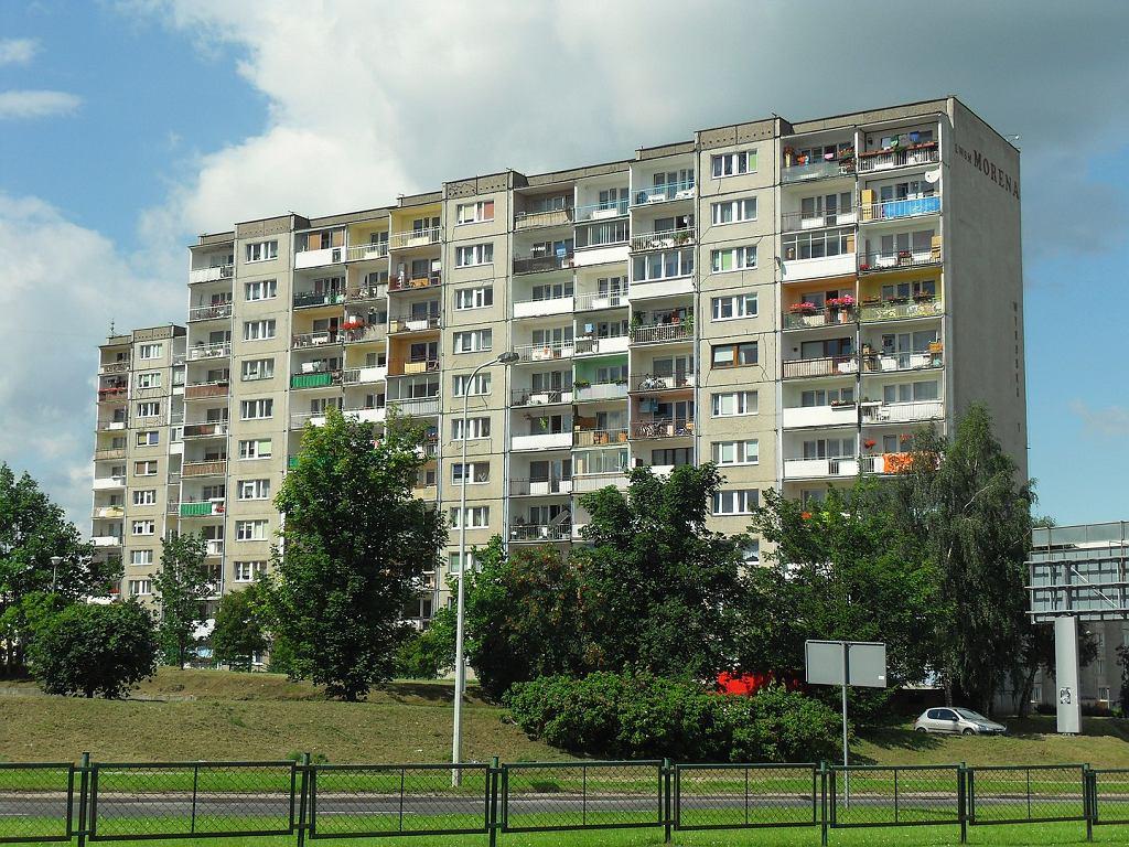 Blok z wielkiej płyty w Gdańsku (zdjęcie ilustracyjne)