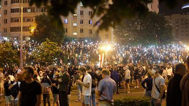 Białoruś. Protesty w Mińsku