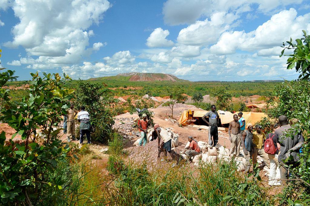 Kopalnia kobaltu w Kongo