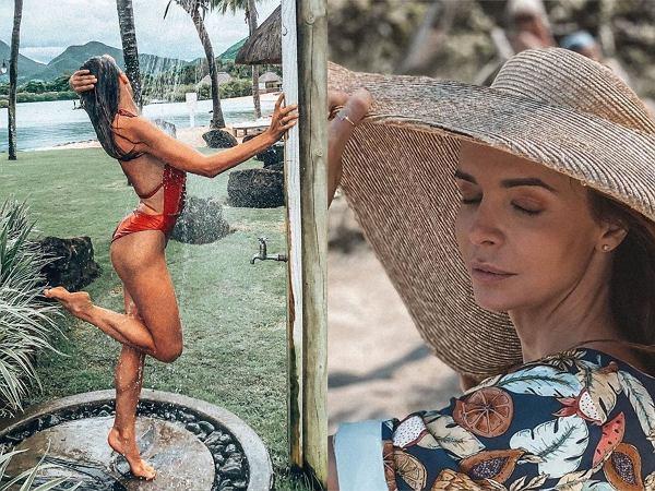 """Anna Wendzikowska pokazała prawdziwą figurę na niepozowanym zdjęciu. """"Wielki tyłek i krótkie nogi"""""""