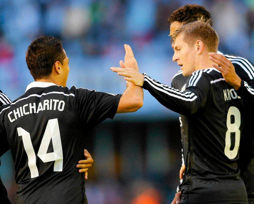 Celta Vigo - Real Madryt 2:4. Javier Hernandez i Toni Kroos
