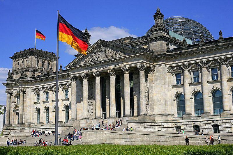 Gmach Reichstagu - siedziba Bundestagu