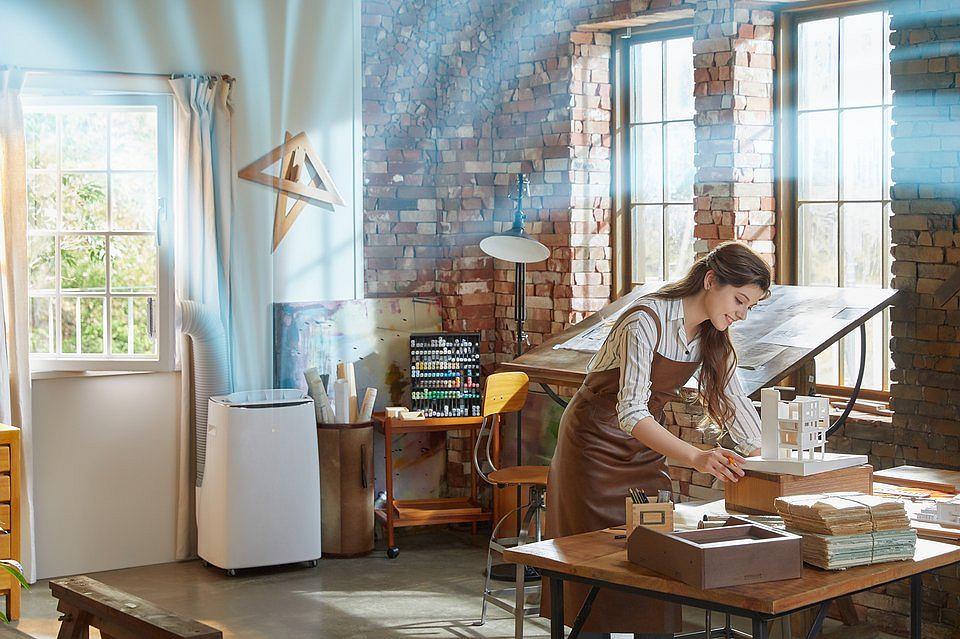 Przenośny klimatyzator LG Dual Inverter.