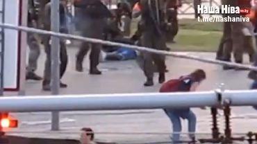 Postrzelenie dziennikarki w Mińsku